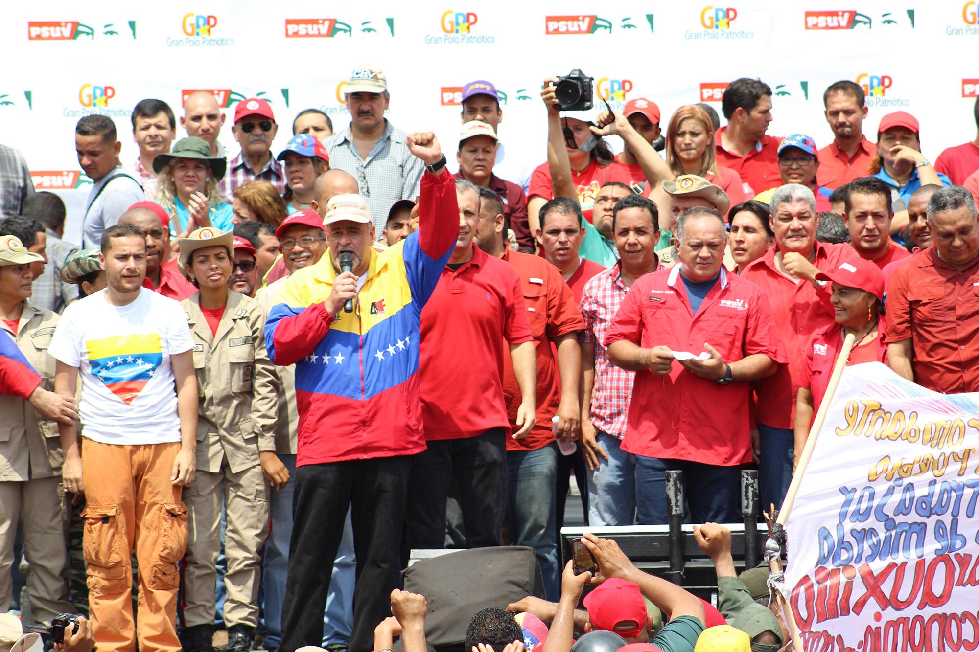 Ameliach: Dirigentes de oposición son responsables por desvío de marcha en Carabobo