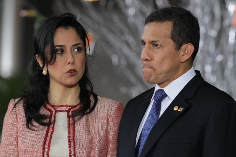 Resultado de imagen para expresidente Ollanta Humala y su esposa Nadine Heredia,